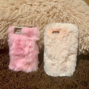 Fuzzy iPhone cases